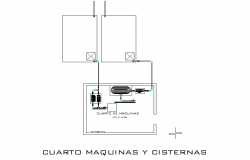 Fourth machines and cisterns plan layout file
