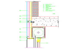 Framed structure and load bearing structure