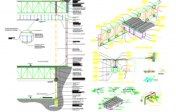 Framing Joint Detail dwg file