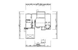 Framing plan details of ground floor of house cad drawing details dwg file