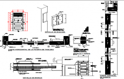 Francis cola z school construction details dwg file