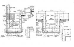 Free Construction Reinforcement Detailing DWG File