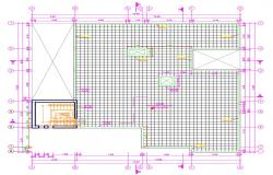 Free Download Autocad House Plan with Dimension Dwg