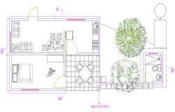 Free Download Autocad House Plans Drawings
