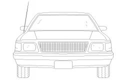 Free Download Car Block CAD Drawing