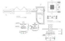 Free Download Foundation Of Wall DWG File