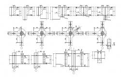 Free Download Pile section Design AutoCAD File