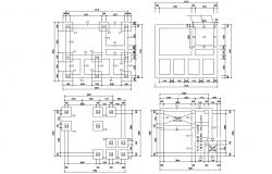Free Download The House Foundation Design DWG File