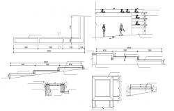 Free Download The Planter Box Design With Section AutoCAD File