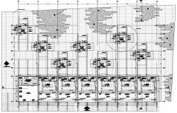 Free Restaurant Plan DWG File