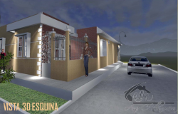 Front 3d elevation design of house