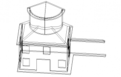 Front 3d elevation details