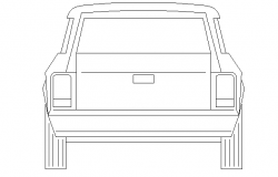 Toy Car Front Elevation Detail