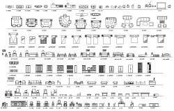 Furniture AutoCAD Blocks