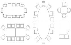 Furniture Blocks Elevation dwg file