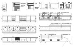 Furniture detail AutoCAD Drawing