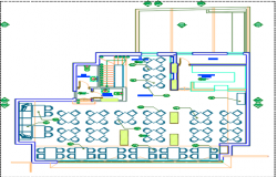Furniture layout dwg file