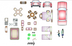 Furniture plan layout file