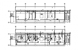 Furniture sectional detailing of building