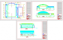 GYM design drawing in india