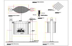 Garbage basket details