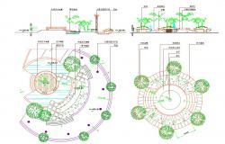 Garden Area Sitting Design Plan