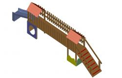 Garden AutoCAD Blocks 3d model design