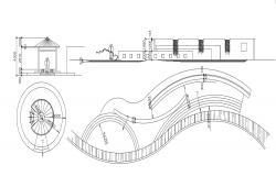 Garden Gazebo Design CAD File
