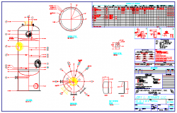 Gas separation equipment design drawing