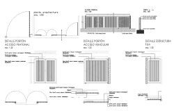 Gate Detail dwg file