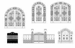 Gates plan detail dwg.