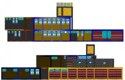 General Hospital Architecture Design and Elevation dwg file