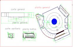 General plan of hotel