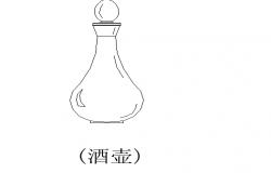 Glass bottle design details