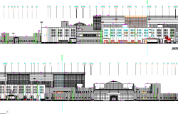 Government Building dwg file