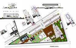Government Municipal Project dwg file