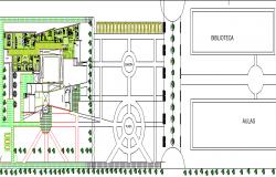 Government Museum Architecture Design, Structure dwg file