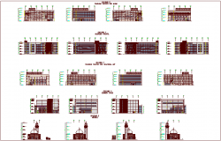 Government individual building dwg file