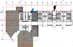 Graduate studio layout plan dwg file