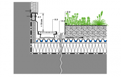 Green roof dwg file