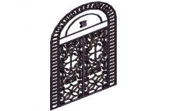 Grill Door design view