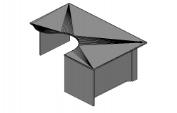 Gronomic table elevation in 3d