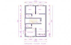 Ground Floor Cad Plan