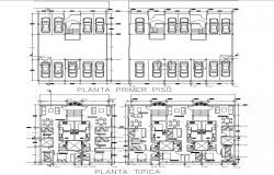 Ground Floor Parking House Plan