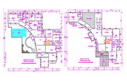 Ground Floor Plan and First Floor Plan