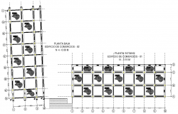 Ground floor building trades layout file