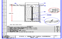Ground floor construction details dwg file