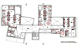 Ground floor plan detail dwg file