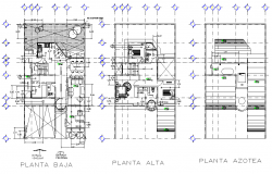 Ground floor to first floor house plan layout file