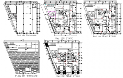 Ground floor to roof plan layout file